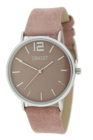 Ernest horloge Silver-Cindy SS21 oudroze