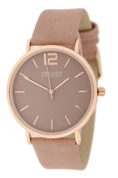 Ernest horloge Rosé-Cindy SS21 oudroze