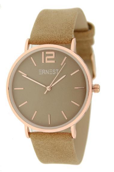 Ernest horloge Rosé-Cindy SS21 camel