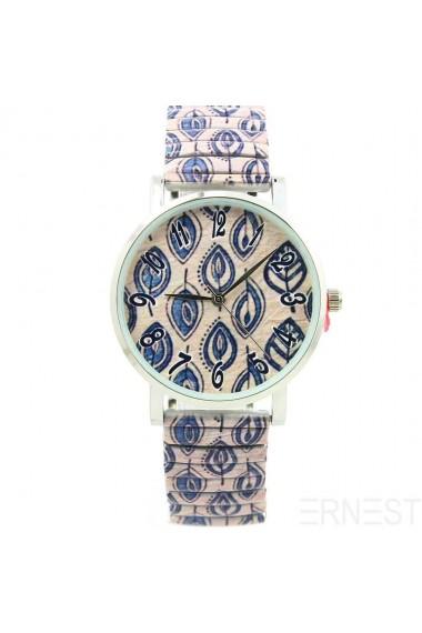 "Ernest horloge ""Multi Leaves"" zand"