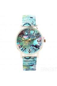 "Ernest horloge ""Ocean"" turquoise"