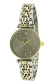 "Ernest horloge ""Tatum"" bi-color goud-zilver"