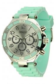 """Ernest horloge """"Silver-case"""" nude"""
