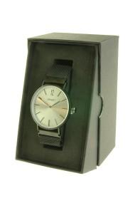 "Ernest horloge ""Lechita-magnet"" zwart-zilver"