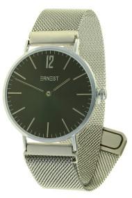 "Ernest horloge ""Lechita-magnet"" zilver-zwart"