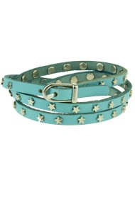"Armband ""Mini-Stars"" lichtblauw"