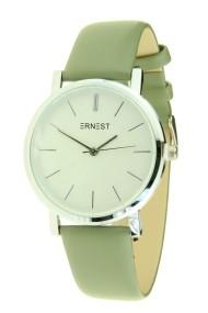 "Ernest horloge ""Silver Andrea"" groen"