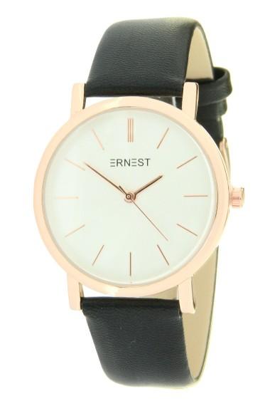 "Ernest horloge ""Andrea"" zwart"