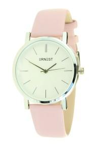 """Ernest horloge """"Silver Andrea"""" soft-pink"""