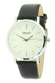 """Ernest horloge """"Silver Andrea"""" zwart"""