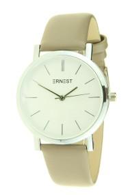 "Ernest horloge ""Silver Andrea"" taupe"
