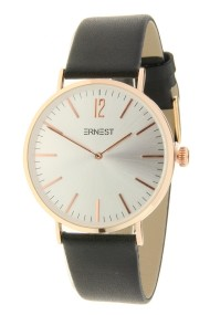 """Ernest horloge """"Lechita"""" zwart-zilver"""