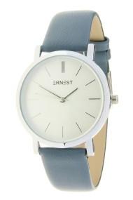 "Ernest horloge ""Silver Andrea"" jeansblauw"