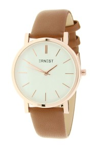 "Ernest horloge ""Rosé-Andrea"" camel"