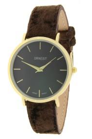 "Ernest horloge ""Gold-Nox-Velvet"" choco"