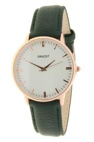 "Ernest horloge ""Fancy-Andrea"" donkergroen"