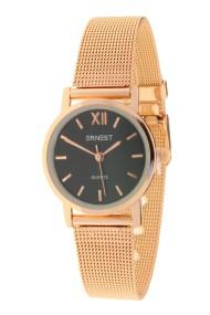 """Ernest horloge """"Holly"""" rosé-zwart"""
