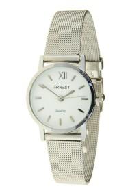 """Ernest horloge """"Holly"""" zilver-wit"""