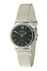 """Ernest horloge """"Holly"""" zilver-zwart"""