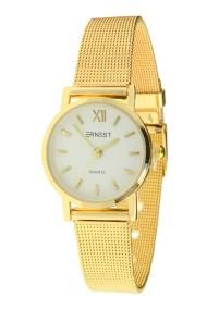 """Ernest horloge """"Holly"""" goud-wit"""