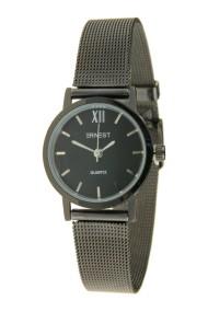 """Ernest horloge """"Holly"""" zwart-zwart"""