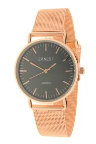 """Ernest horloge """"Grace"""" rosé-zwart"""