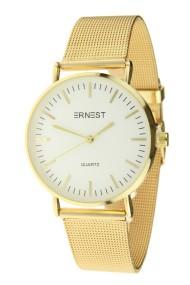 "Ernest horloge ""Grace"" goud-wit"