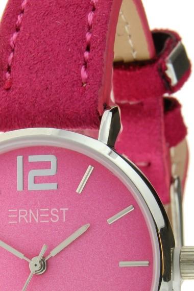 Ernest horloge Silver-Cindy-Mini SS-18 fuchsia