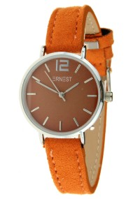 Ernest horloge Silver-Cindy-Mini SS-18 oranje