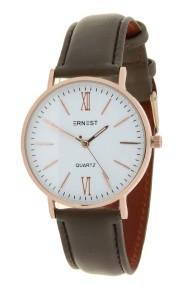 """Ernest horloge """"Rosé-Kelsey"""" lever-wit"""