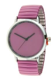 """Ernest horloge """"Fancy Plain"""" licht paars"""