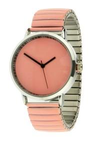 "Ernest horloge ""Fancy Plain"" zalm"