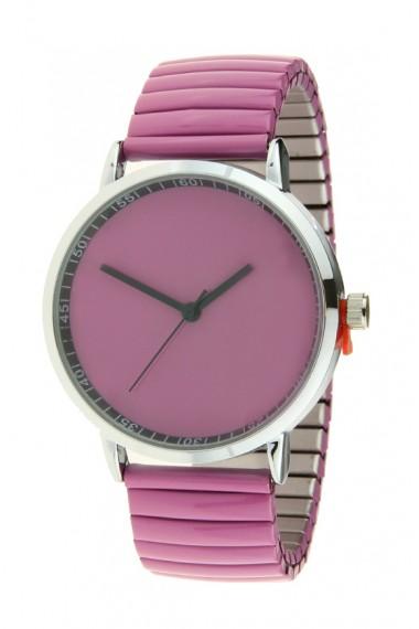 """Ernest horloge """"Fancy Plain"""" violet"""