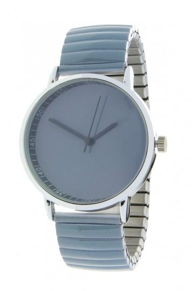 """Ernest horloge """"Fancy Plain"""" jeansblauw"""