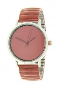 "Ernest horloge ""Fancy Plain"" roestbruin"