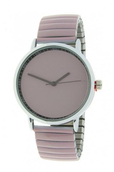"""Ernest horloge """"Fancy Plain"""" oudroze"""